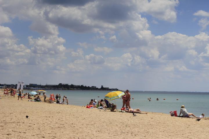 Пляжи в Заозерном и окрестностях фото