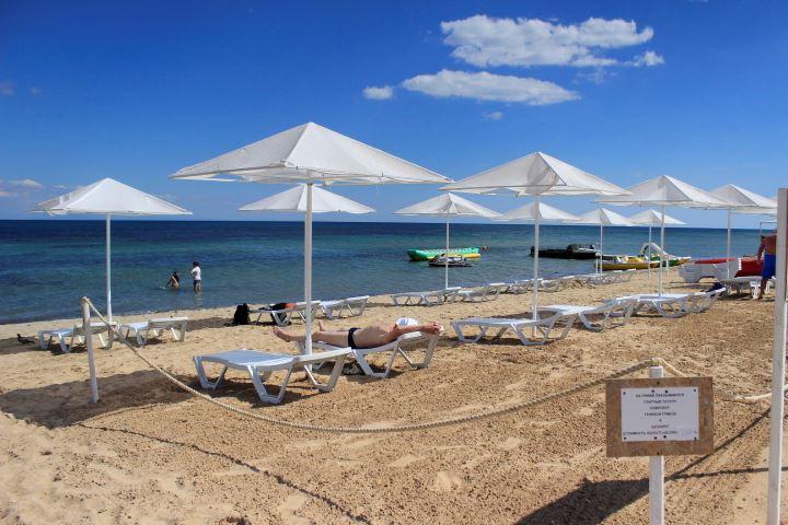 Обзор пляжей в Заозерном фото